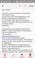 Scam - Online dating scam